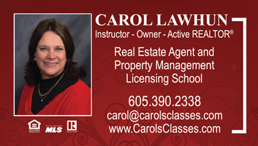 Real Estate Classes - Carol Lawhun