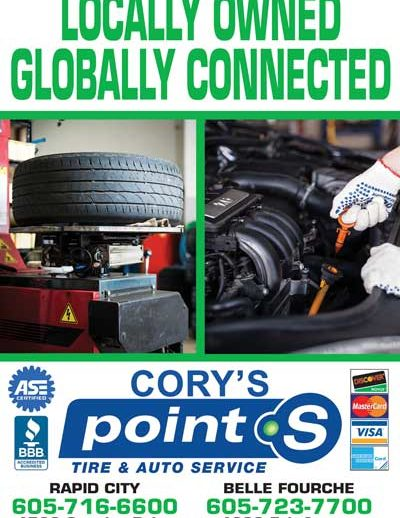 Corys Point S Tires