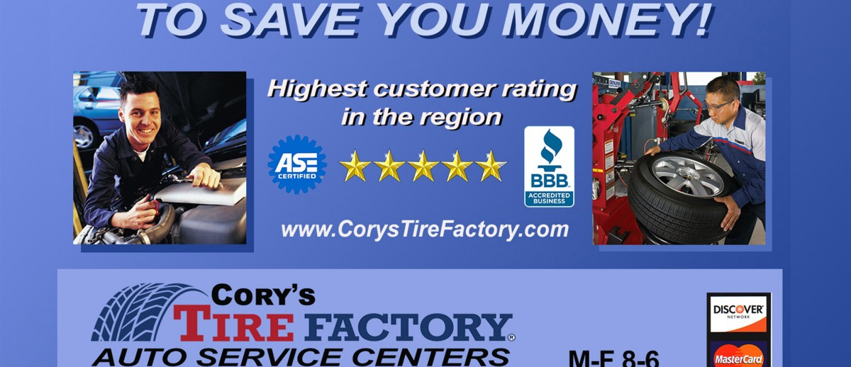 Automotive Repairs - Cory's Tire Factory