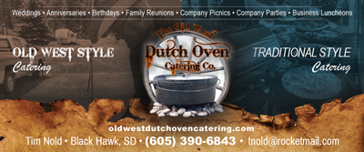 Old West Dutch Oven Catering